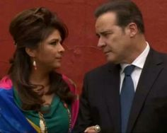 Esas mirada de Vicky y Cesar ♥