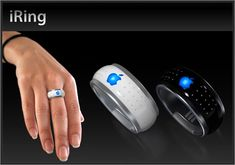 "iRing Control Your iPhone, iPod And Any Apple Device Remotely Through Using ""i Ring"""