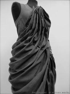 The Darker Horse: Fabric Manipulation: Kei Kagami S/S 2014