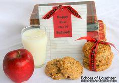 Echoes of Laughter: Back To School Breakfast Cookies...