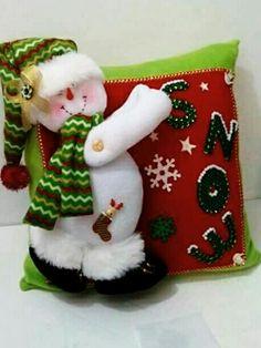 "**"" Christmas Stockings, Christmas Ornaments, Pillows, Holiday Decor, Crochet, Home Decor, Videos, Decor Pillows, Christmas Crafts"
