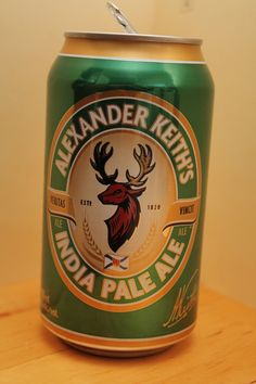 Alexander Keith's - India Pale Ale    Yea Cans!