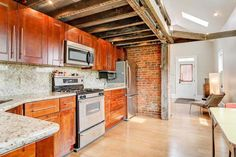 Small Cottage - Pure Honey - A small, restored home with loft made from reclaimed wood in Columbus, Ohio. More info