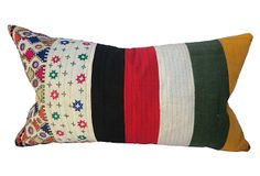 Gypsy Mirrored Quilted  Pillow on OneKingsLane.com