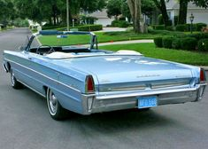 1965 Meteor Montcalm convertible