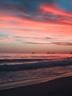 Landscape Photography - Sunset at Ipanema Beach