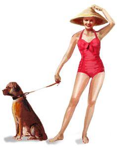 Mama Maria Swimwear - jaren 50 badmode