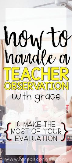 Observations and informal walk-throughs are an unavoidable part of being a teacher. And the anticipation of these events can make even the best veteran teachers nervous. Sure, some teachers don't mind being observed, while the rest of us are nervous because of the audience in the room. Regardless of how you feel, there are several … #teacher