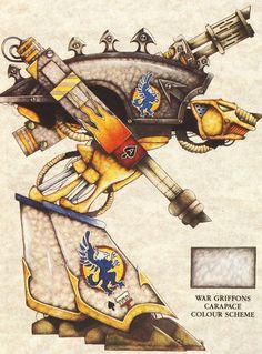 Legio Griffonicus Warhound