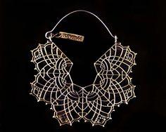 Lacelike filigree hoops make a dramatic, feminine statement.