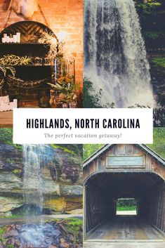 Why Highlands North Carolina Makes The Perfect Vacation Getaway Find out why we believe Highlands, North Carolina should be your next vacation destination! Franklin North Carolina, Cashiers North Carolina, Highlands North Carolina, Visit North Carolina, Highlands Nc, North Carolina Mountains, Waterfalls In North Carolina, Vacation Destinations, Vacation Spots