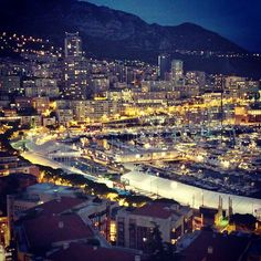 #PortHercule #montecarlo #monaco #love #greatview #night by sakica_ma from #Montecarlo #Monaco