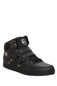 Vlado Knight Black Mono Sneakers