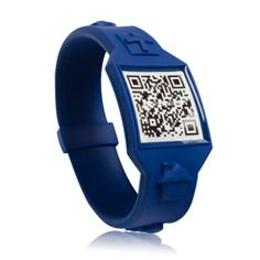 Life Band. Clean, classic blue. Appreciate your self, your loved ones, and think forward. $18.95