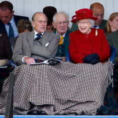 In 2015, the royal couple shared a blanket at the Braemar Gathering at The Princess Royal and Duke of Fife Memorial Park in Scotland. Photo: Max Mumby/Indigo/Getty Images