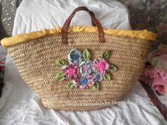 capazos decorados con crochet - Buscar con Google