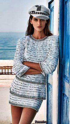Chanel Pre-Fall 2018 - Chanel Paris - Ideas of Chanel Paris - Chanel Pre-Fall 2018 Beautiful Outfits, Cool Outfits, Fashion Outfits, Womens Fashion, Fashion Blogs, Chanel Couture, Haute Couture Fashion, Chanel Fashion, Fashion Brand