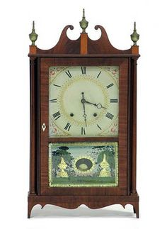 Seth Thomas Pillar and Scroll Shelf Clock - Sep 2011 Clocks For Sale, Old Clocks, Antique Clocks, Vintage Clocks, Coo Coo Clock, Clock Shop, Mantle Clock, Grandfather Clock, So Little Time