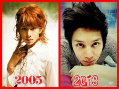 HeeChul then and now