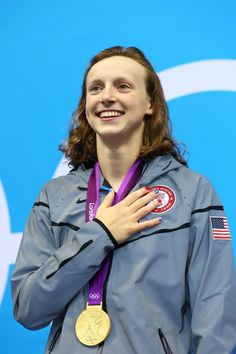 Katie Ledecky 800m freestyle gold