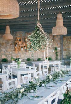 especial bodas con ramas de olivo