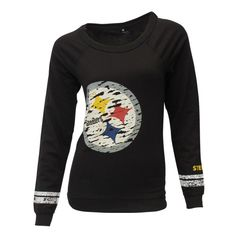 9239a30a3 Pittsburgh Steelers Crew Neck Long Sleeve
