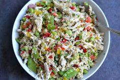 Type A Kitchen: Honey Mustard Chicken and Quinoa Salad