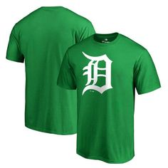 Detroit Tigers Fanatics Branded St. Patrick's Day T-Shirt - Green - $27.99