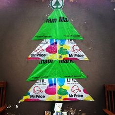 Our ghetto christmastree in South Africa...