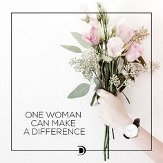 One woman cam make a difference?
