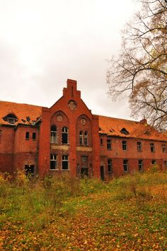 Owińska Psychiatric Hospital - (1838-2009) abandoned in Owinska, Poland.