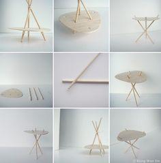 A sustainable piece of furniture from Singaporean designer Kong Wen Da