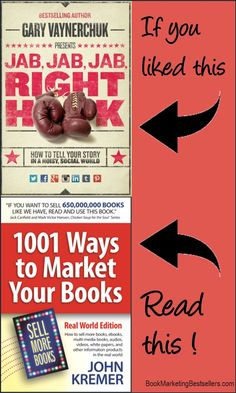 One of the best ways to promote your book is to attach your book to a bestselling book title similar to yours. Hitch your wagon to a star! Here, for example, is a great graphic that you could copy to promote your book. Cool Writing, Writing Tips, Marketing Program, Marketing Books, Own Website, Book Title, Book Authors, Internet Marketing, Promotion