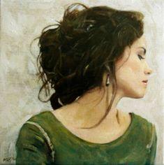 "Saatchi Art Artist William Oxer FRSA; Painting, ""White Sky"" #art"