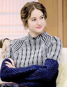 Shailene Woodley on Good Morning Britain (March 10th 2015)