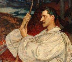 Verner von Heidenstam - Hanna Pauli e algumas de suas pinturas ~ Sueca