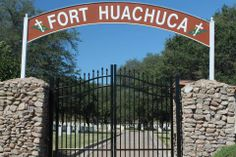 Fort Huachuca Cemetery - read some of the old tombstones here and understand something of the old west