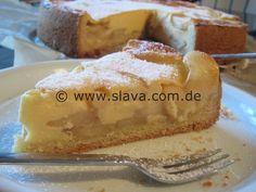 Rahmkuchen mit Zimtäpfeln « kochen & backen leicht gemacht mit Schritt für Schritt Bilder von & mit Slava