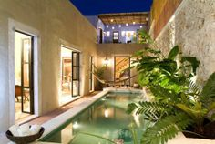 Colonial Mexican Architecture - Merida, Mexico