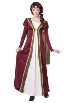 You'll be the fair maiden whom every knight wants to rescue when you arrive at your party wearing this Womens Medieval Maiden Costume!