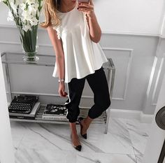 #morning #all you need is a white blouse☺️ #shopping #blouse #Mint Label #fashion #ootd #look style #stylish #streetstyle #lookbook