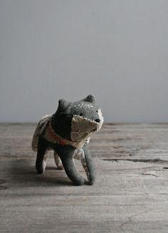 fox // soft sculpture. Oh!