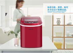 Machine à glaçons de ménage machine à glace petit commerciale machine à glaçons lait thé boutique machine à glace HZB-12A
