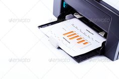 Buy Printer printing business report by on PhotoDune. Wireless Printer, Printing, Stock Photos, Business, Cards, Store, Maps, Business Illustration, Playing Cards