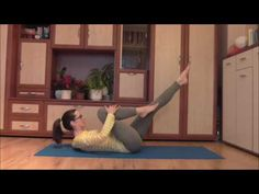 Januári Pilates kihívás - hasizom gyakorlatok 10 percben - YouTube