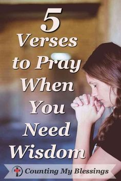 Bible Verses About Love:Woman praying because she needs wisdom. Prayer Scriptures, Bible Prayers, Prayer Quotes, Faith Quotes, Bible Quotes, Wisdom Scripture, Qoutes, Prayer Prayer, Spiritual Encouragement