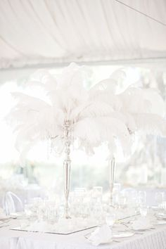 Photographer: Lucida Photography; Wedding reception centerpiece idea;