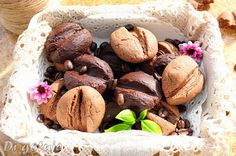 """Di gotuje: Ciastka """"Ziarna kawy"""" (czekoladowo-kawowe)"""