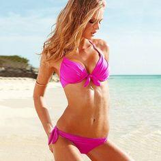 8016adb5ff2 Wholesale Mei red 2013 Women Push up Padded Bra Bathing Suit Bikini  Swimsuit Swimwear SET M