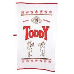 Pano de Prato Retrô Toddy - Presentes Criativos